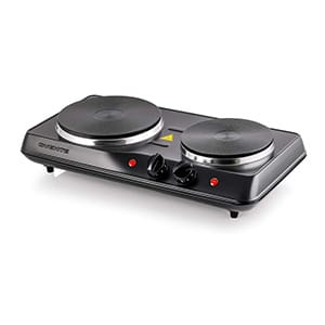 Double Hot Plate Electric Cast Iron Stove