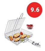 wolfwise portable 430 stainless steel barbecue bbq