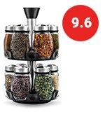 12 Jar Revolving Spice Rack