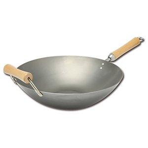 14 inch carbon steel wok