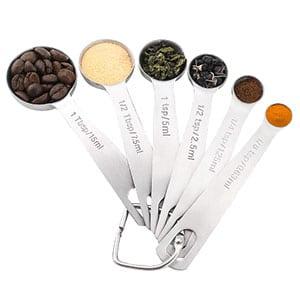 18/8 Measuring Spoons