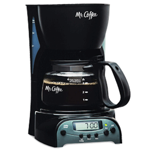 4-cup Programmable Coffee Maker