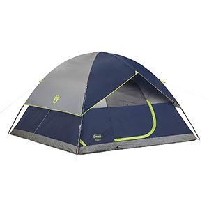 Coleman Sundome Tent for Bad Weather