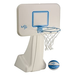 dunnrite swimming basketball hoop