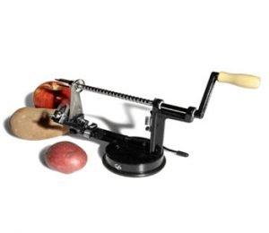 utenlid apple and potato peeler
