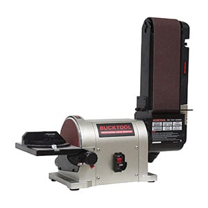 bucktool belt and disc Benchtop sander