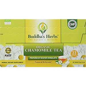 Chamomile Tea Bags for bloating relief