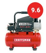 craftsman portable air compressor for painting