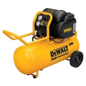 dewalt horizontal quiet compressor