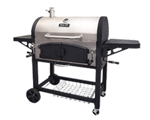 Dual Zone Charcoal Grill