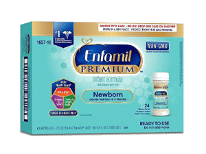 enfamil infant formula for newborn baby