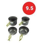 G4Free Outdoor Hiking And Camping Cookware set