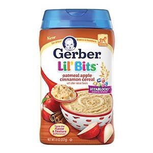 gerber lil bits oatmeal for baby
