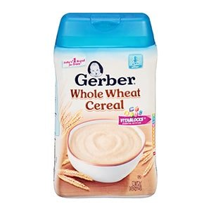 gerber oatmeal cereal for baby