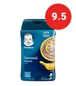 gerber oatmeal for baby
