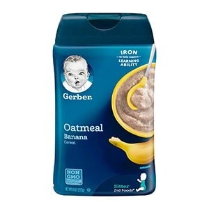 gerber organic oatmeal for baby