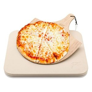 hans grill baking pizza stone for grill