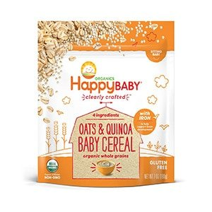 happy baby oatmeal cereal