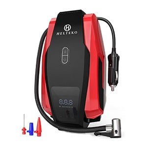 helteko portable 12V air compressor