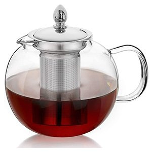 hiware glass tea pot