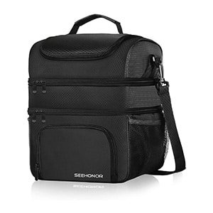 leakproof insulated lunch bag