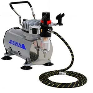 master airbrush hp air compressor for painting