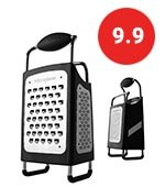 microplane 34006 4 sided cheese grater set