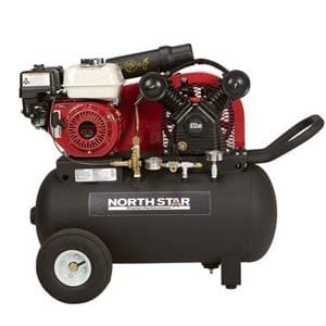 northstar gas powered air compressor