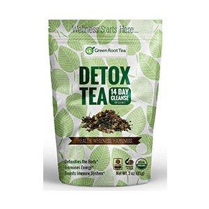 organic green detox tea
