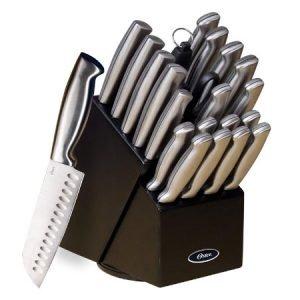 oster baldwyn knife block set