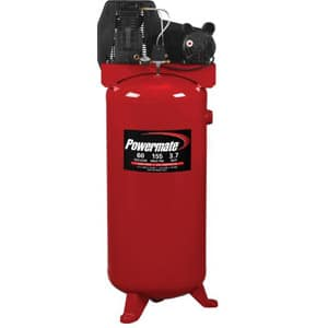 powermate vertical air compressor