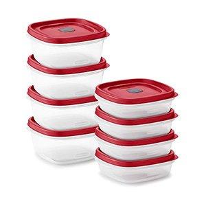 rubbermaid vented food storage