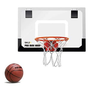 SKLZ pro mini indoor basketball hoop with ball
