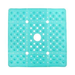 square shower mat