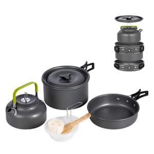 tera hiker camping cookware set