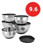 X-chef Stainless Steel Bowls