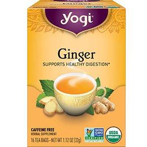 Yogi Tea Bags for bloating relief