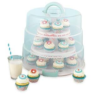 3 Tier Cupcake and Cakepop Display