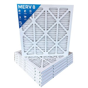8 Pleated Ac Filters