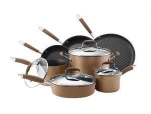 Anolon Anodized Cookware pots and pans