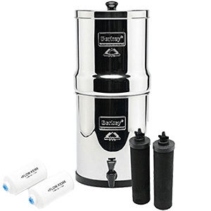 Big Berkey Countertop Water Filter