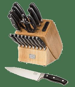 Chicago Insignia Piece Knife Block Set