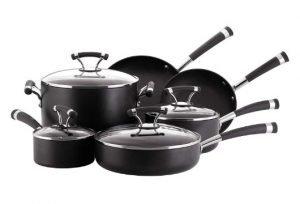 Circulon Contempo pots and pans set