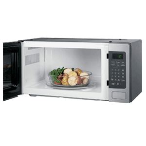 GE Stainless Steel Countertop Microwave