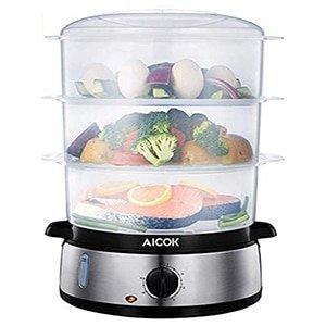 aicok food steamer vegetable steamer