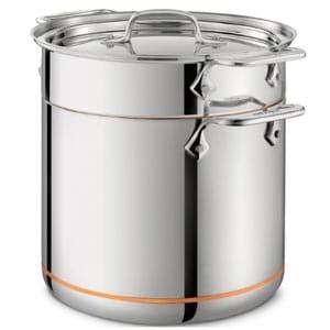 all clads copper core pentola