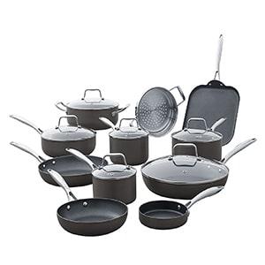 amazon brand stone cookware set