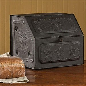 antique replica bread box