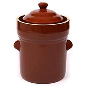 boleslawiec polish fermenting crock pot