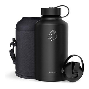 buzio vacuum insulated water bottle